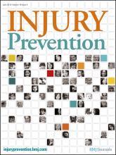 Injury Prevention: 18 (3)