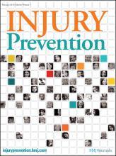 Injury Prevention: 19 (1)
