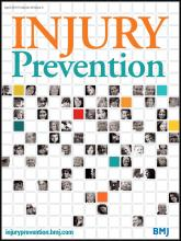 Injury Prevention: 20 (2)