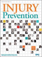 Injury Prevention: 20 (5)