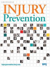 Injury Prevention: 20 (6)