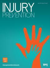 Injury Prevention: 22 (3)