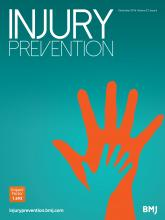 Injury Prevention: 22 (6)
