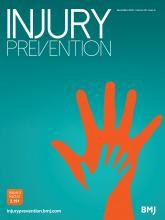 Injury Prevention: 26 (6)