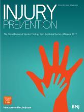 Injury Prevention: 26 (Suppl 2)