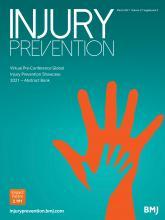 Injury Prevention: 27 (Suppl 2)